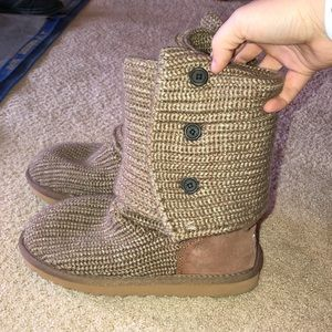 Slouchy Knit Uggs
